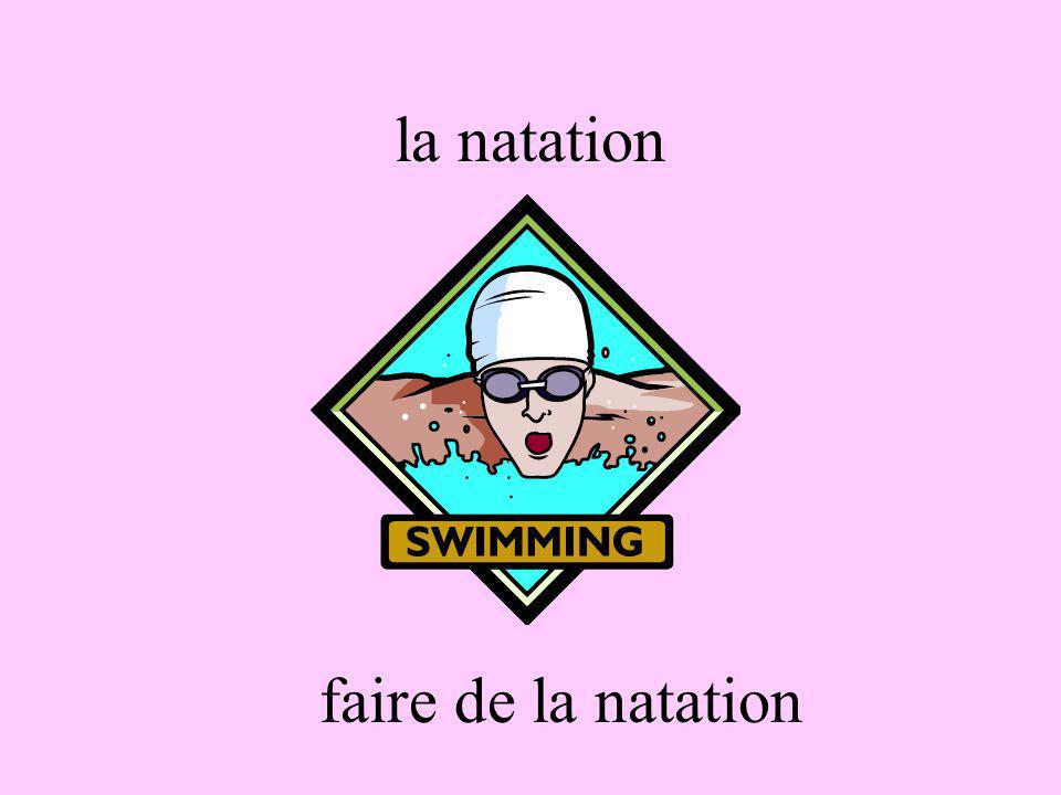 la natation faire de la natation