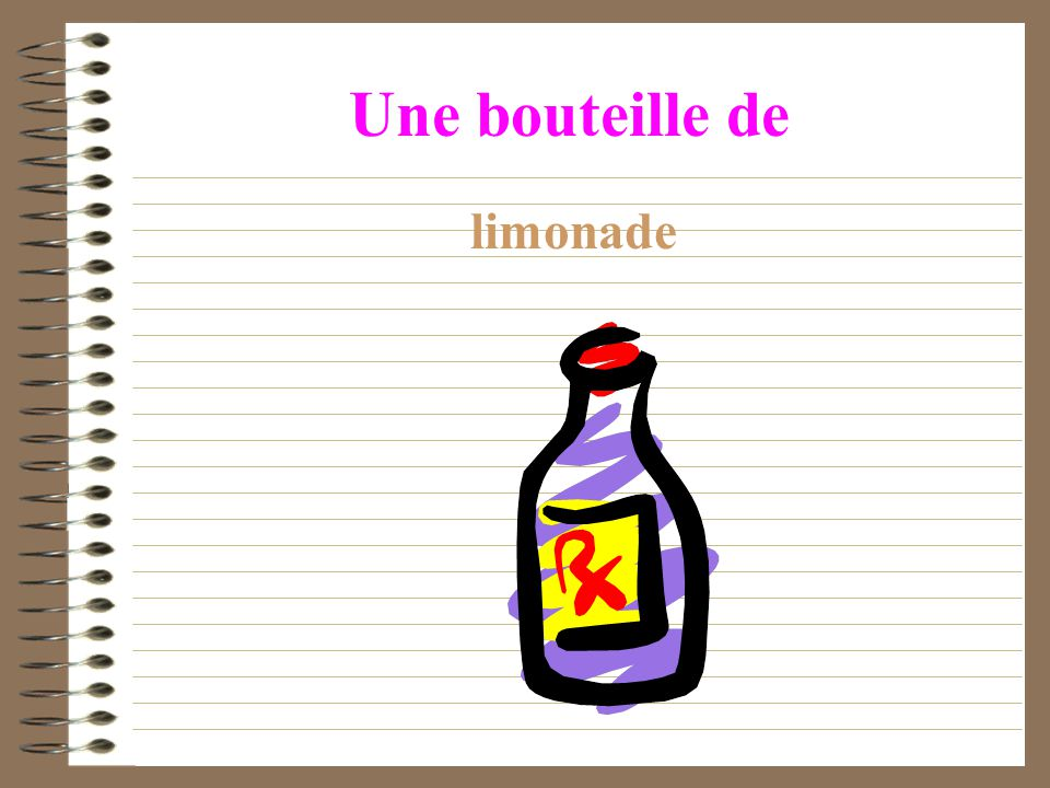 Activités Writing, p.64, Ex.1c.Write the shopping list in French for these items.