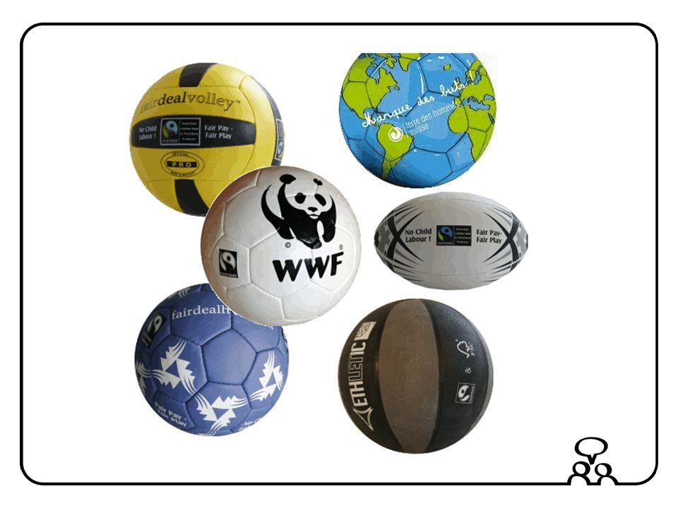 Chaque année on achète 40 millions de ballons de foot dans le monde entier.