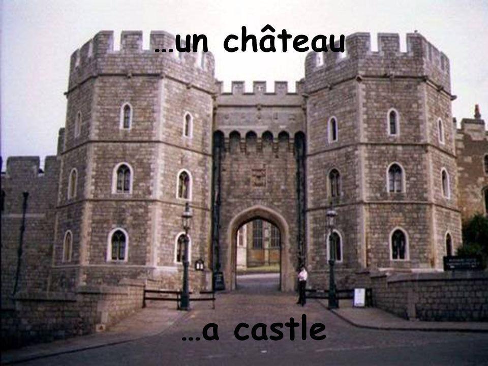 …un château …a castle