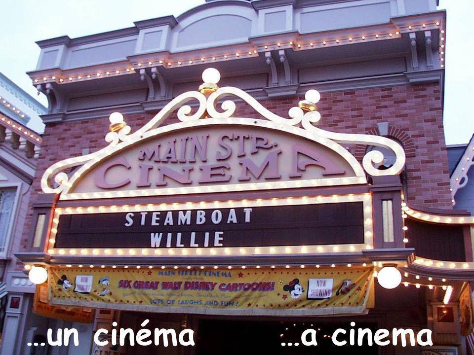 …un cinéma…a cinema