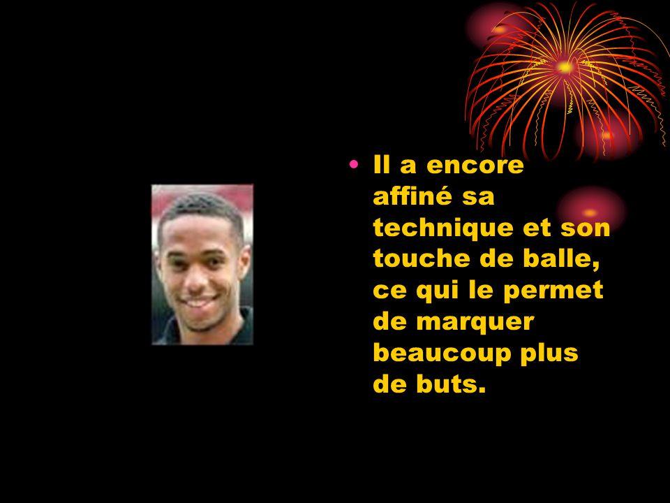 Thierry Henry impressionne surtout par ses qualités physiques. Il est au sommet de sa forme.