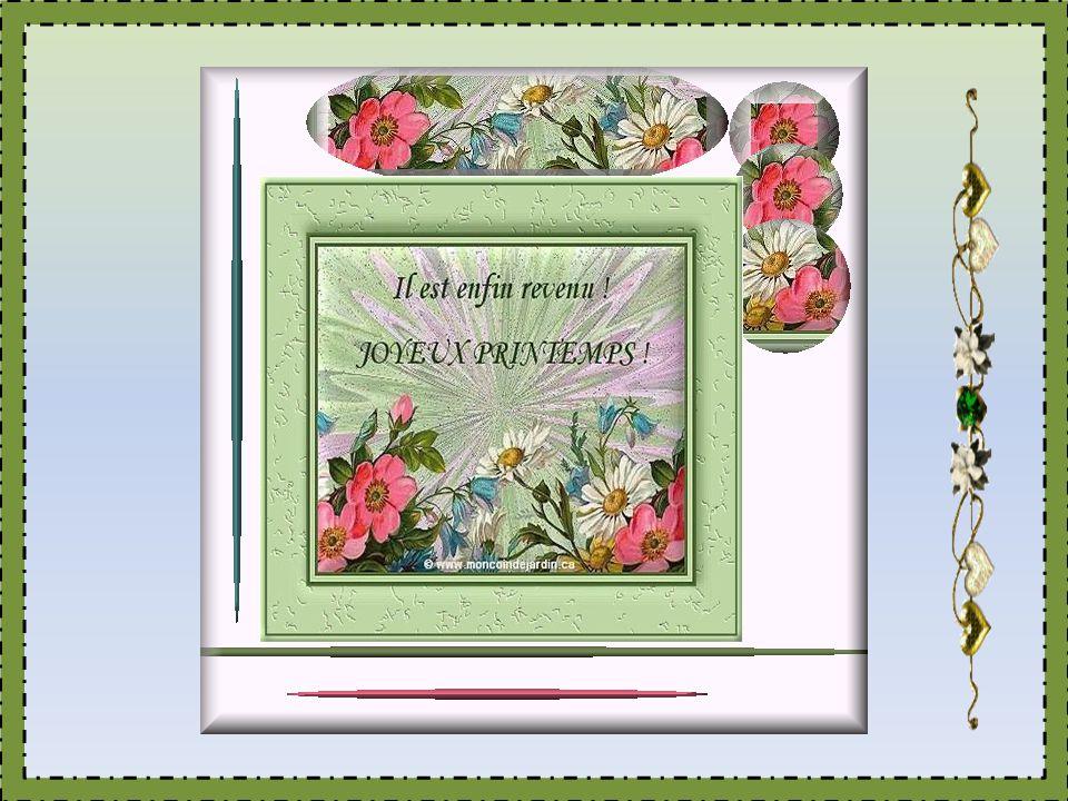 Dans lâme unie à Dieu cest toujours le printemps...