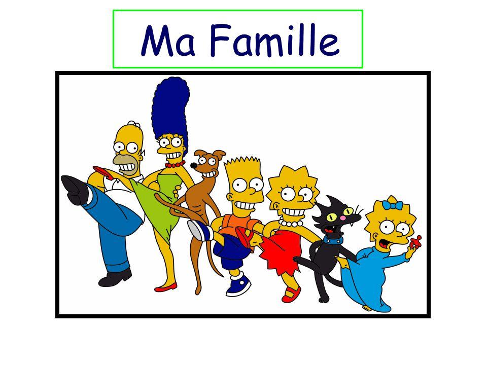 Voici mon frère Voici ma soeur Voici mon père Voici ma mère Voici ma famille