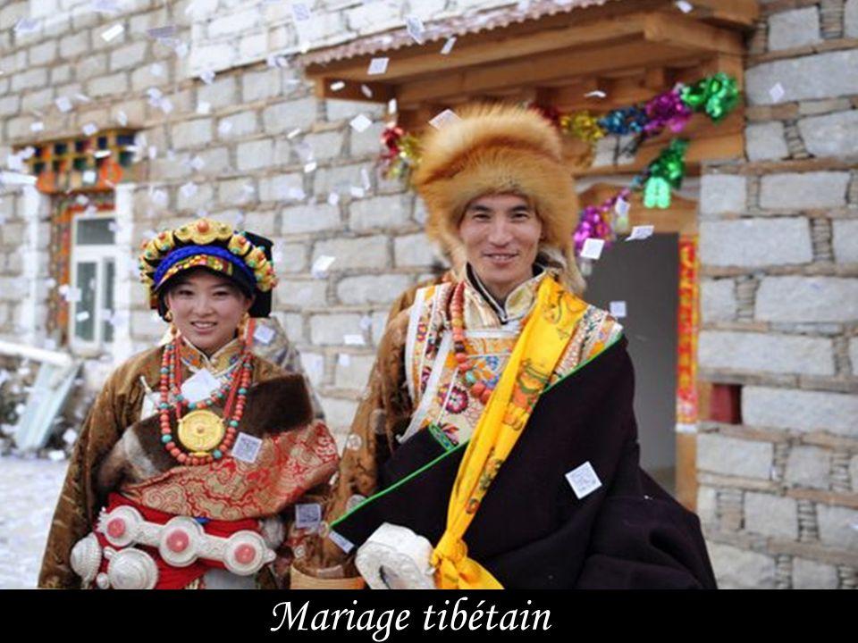 Mariage thaïlandais bouddhiste