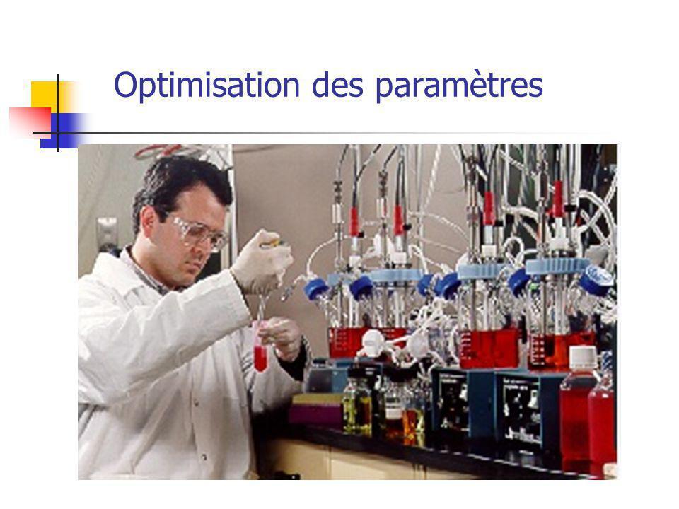 Optimisation des paramètres