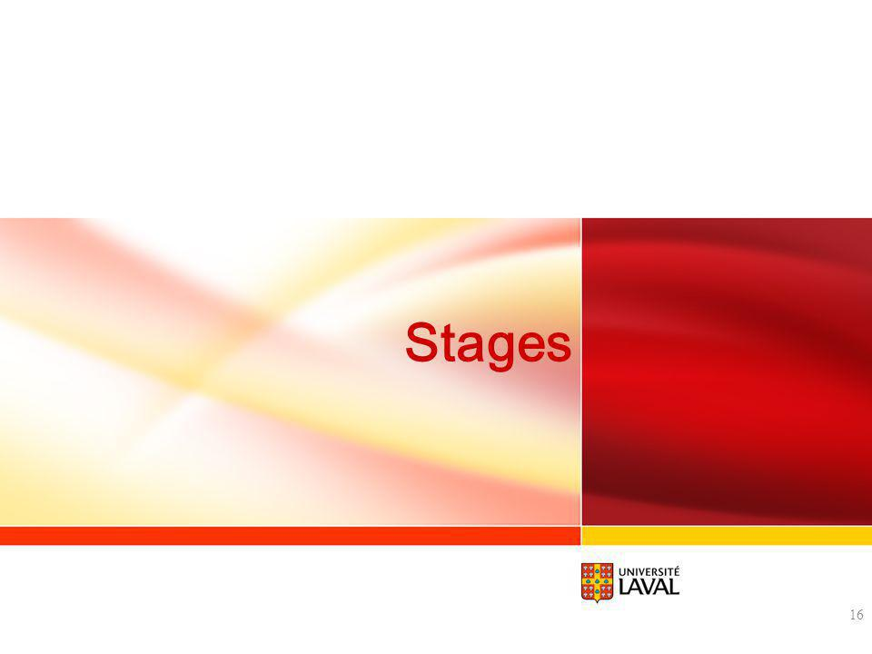 Stages 16