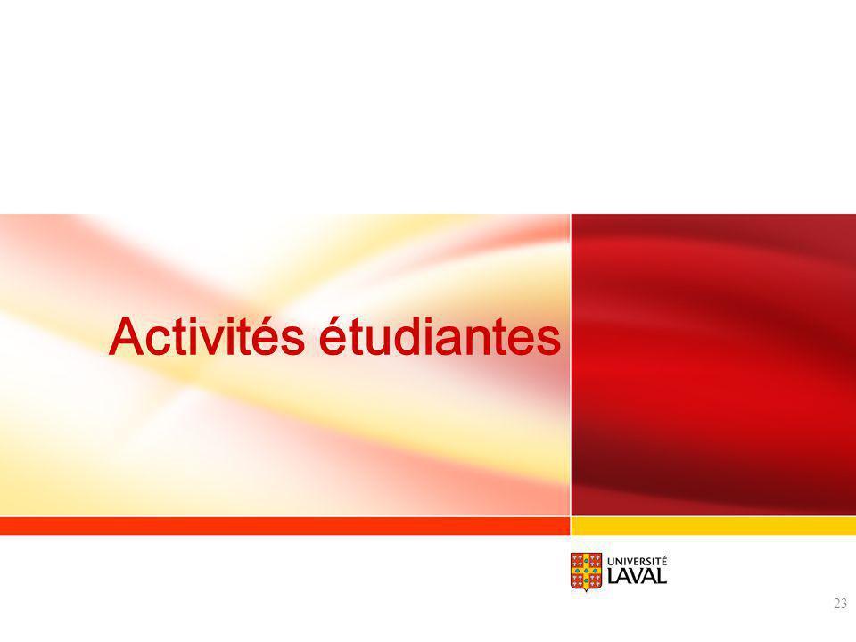 Activités étudiantes 23