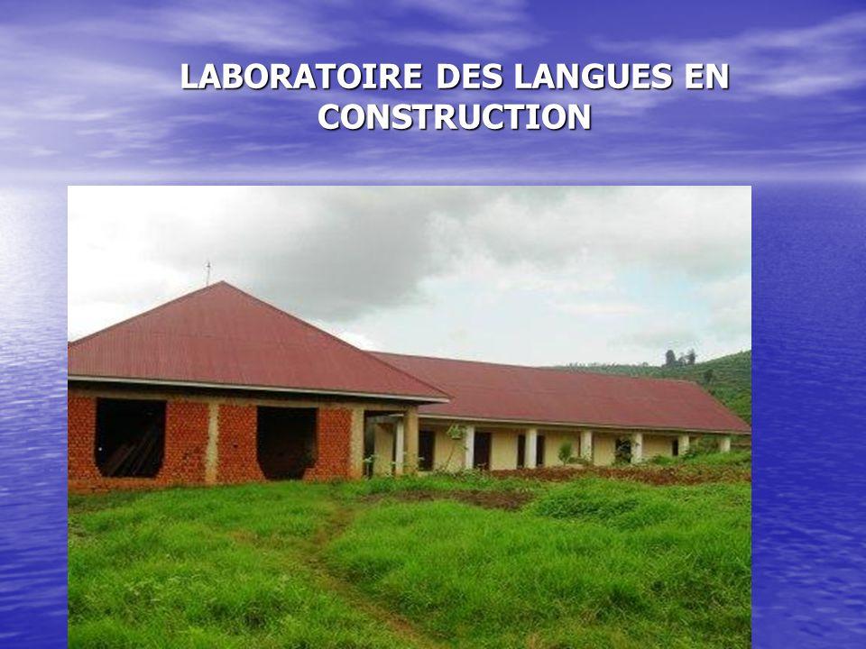 LABORATOIRE DES LANGUES EN CONSTRUCTION