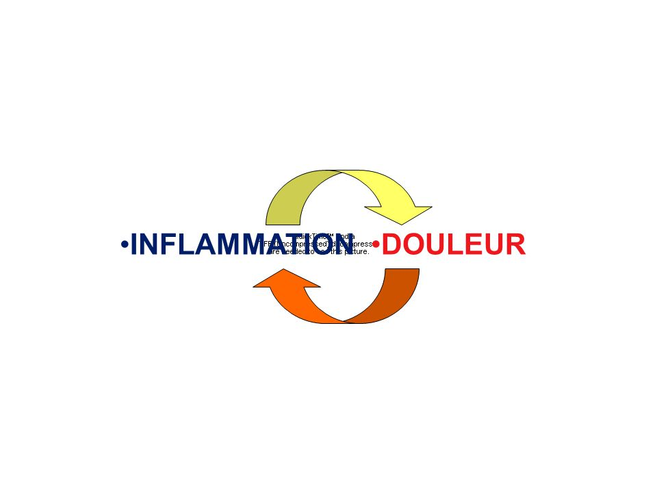 INFLAMMATION DOULEUR
