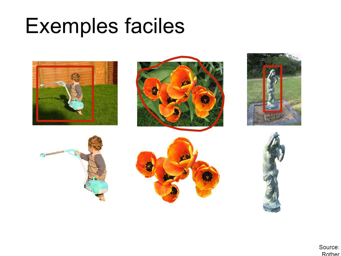 Exemples faciles Source: Rother