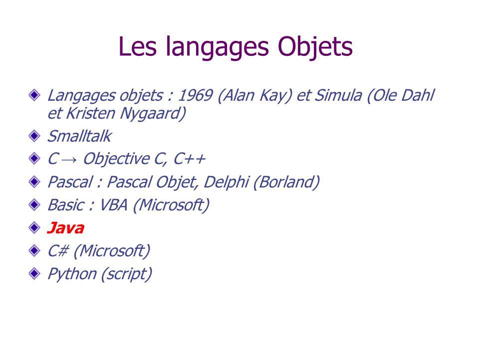 Versions Java 1.0.2 (1996) : le JDK : Java Development Kit, 212 classes, 8 paquetages version minimale des browsers web.