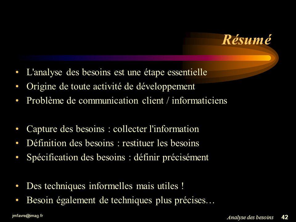 Le langage UML : une vision globale Jean-Marie.Favre@imag.fr