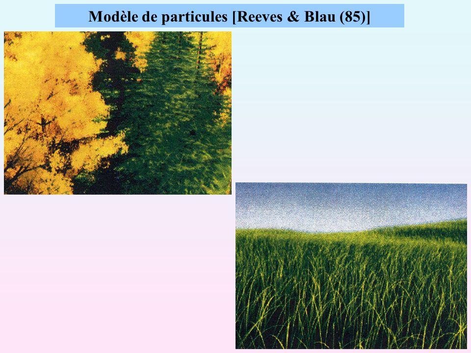 26 Modèle de particules [Reeves & Blau (85)]