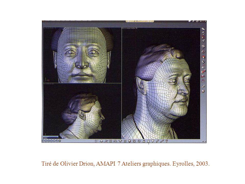 Tiré de Olivier Drion, AMAPI 7 Ateliers graphiques. Eyrolles, 2003.