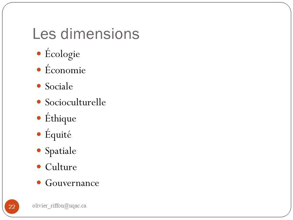 Quelle relation? Égalité Hiérarchie Subordination … 23 olivier_riffon@uqac.ca