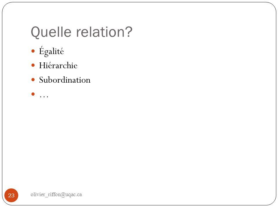 Modèle de Jacob et Sadler Conception à 3 dimensions égalitaires 24 olivier_riffon@uqac.ca