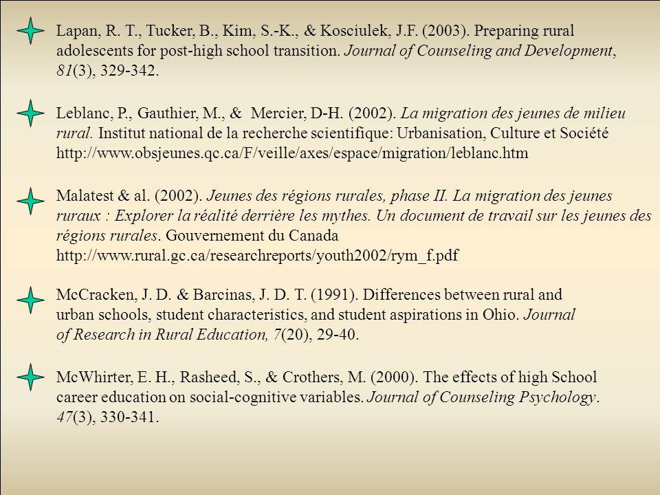 McCracken, J. D. & Barcinas, J. D. T. (1991).