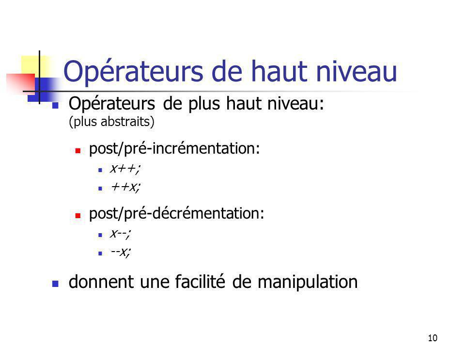 9 Conventions dutilisation 0011 01000 0 +3 (x) -(+4) 00101 - 0100 00110 0 +4 -(+3) (x) 00101 -