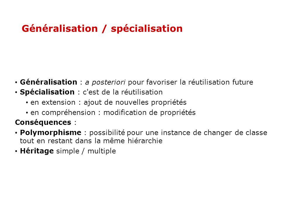 template Tableau ::Tableau(int n) { T=new elem[n]; nbelements=n; } template Tableau ::Tableau(const Tableau &tab) { T=new elem[tab.nbelements]; (*this)=tab; } template elem& Tableau ::operator[](const int i) const { return T[i]; } Programmation générique