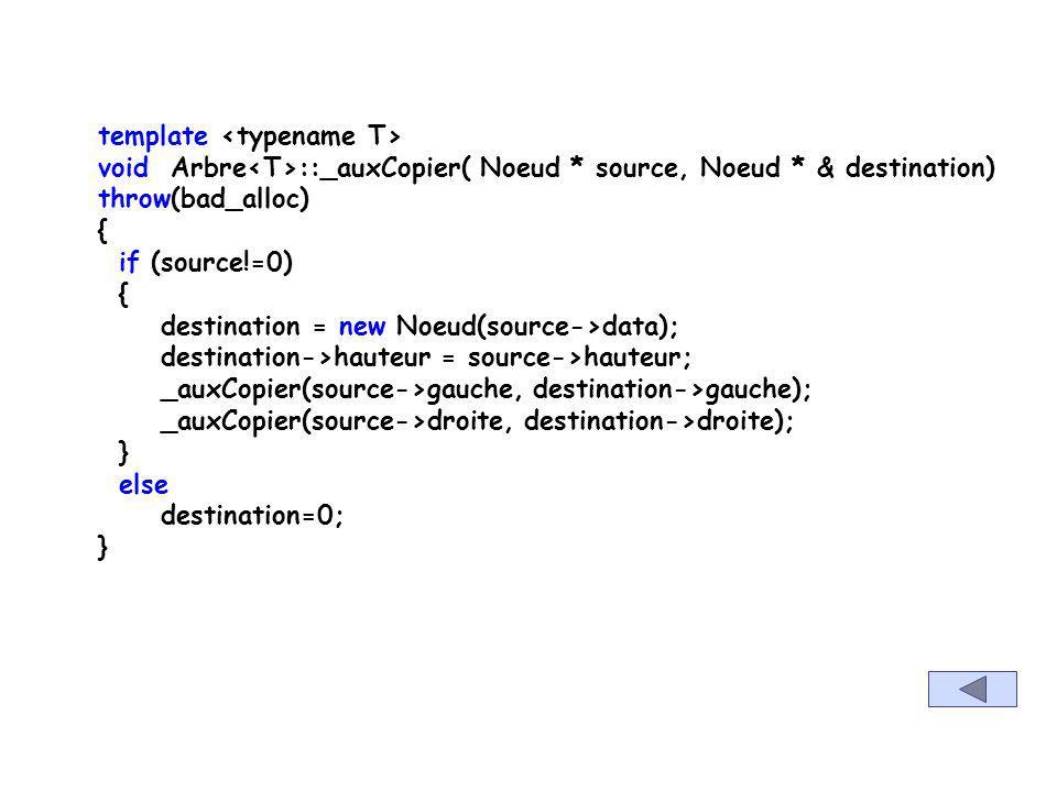 template void Arbre ::parcourirParNiveau(void (* traitement)(E &iteme)) const { queue Q; Noeud * temp; Q.push(racine); while (!Q.empty()) { temp= Q.fr