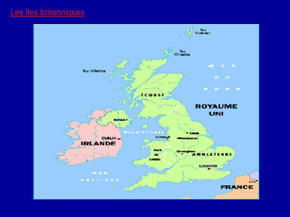 Les îles britanniques