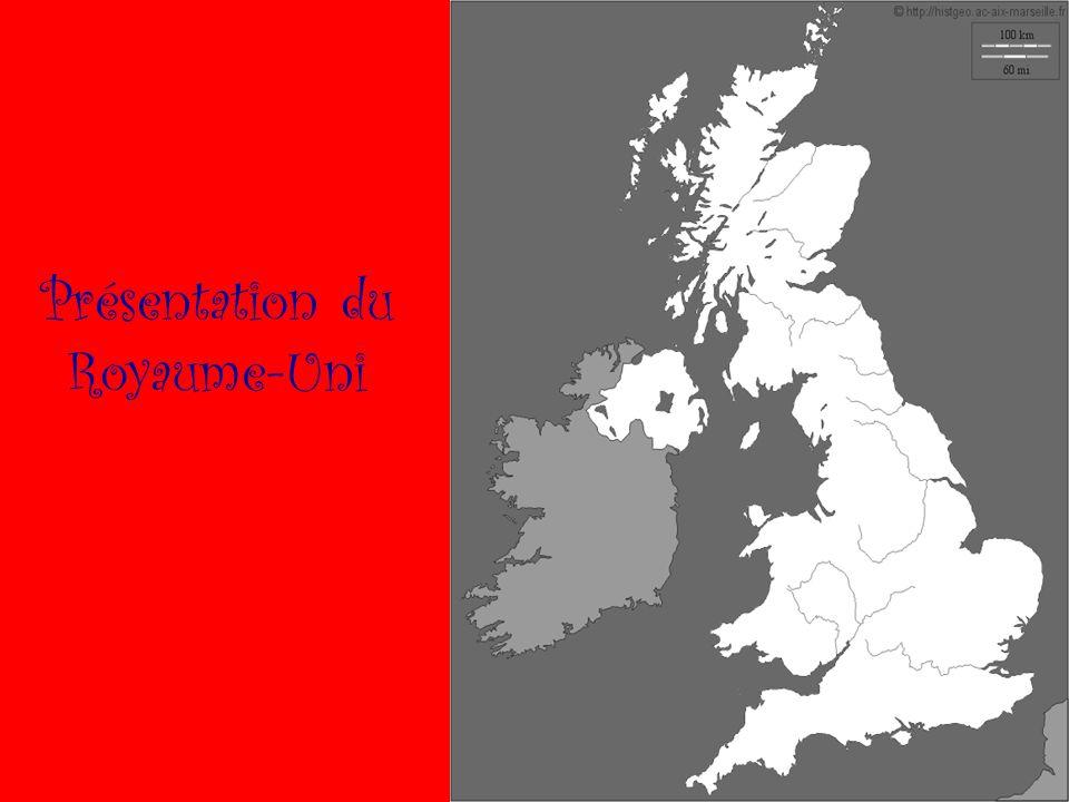 Carte de localisation de lAngleterre 1)Quest ce que le Royaume-Uni A- Présentation du territoire Le Royaume-Uni est un archipel ( un Ensemble dîles ) composé de la Grande Bretagne, dune partie de lIrlande et de Plusieurs autres petites îles.