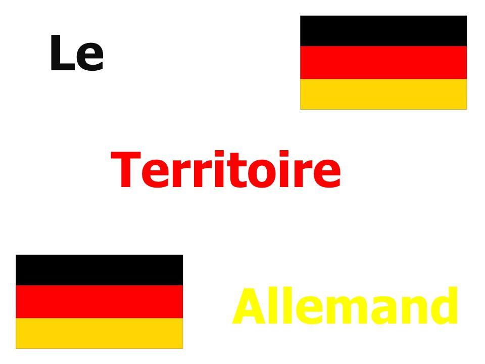 I – lAllemagne en Europe A°) La situation géographique 1. Le relief :