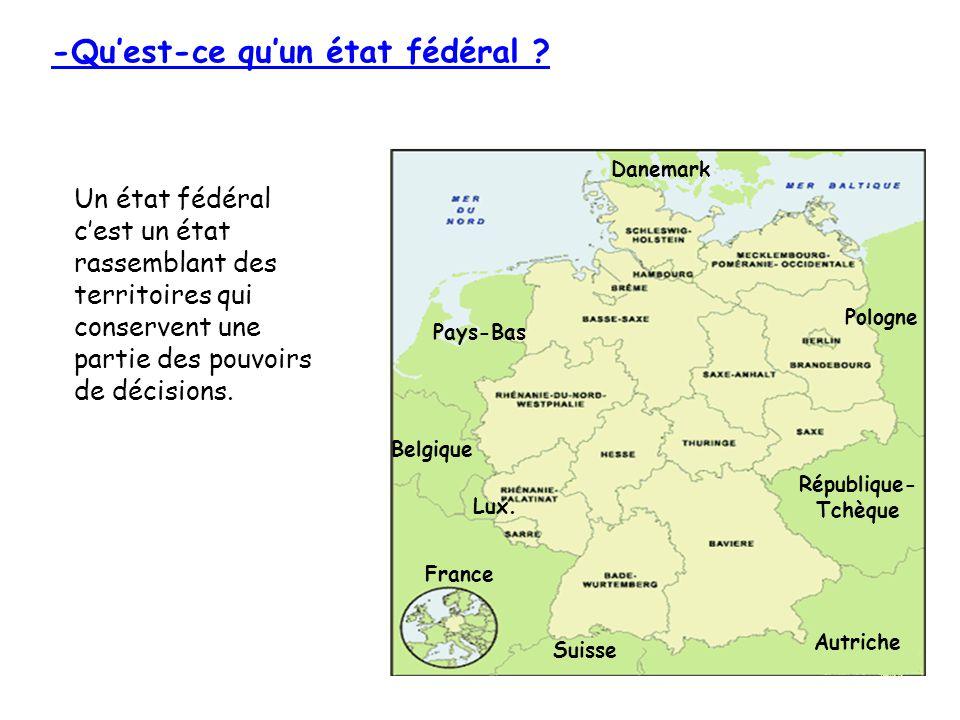 -Quest-ce quun état fédéral .