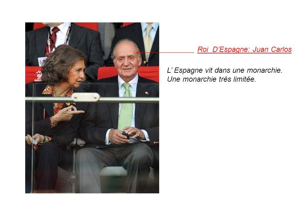Roi DEspagne: Juan Carlos L Espagne vit dans une monarchie. Une monarchie très limitée.