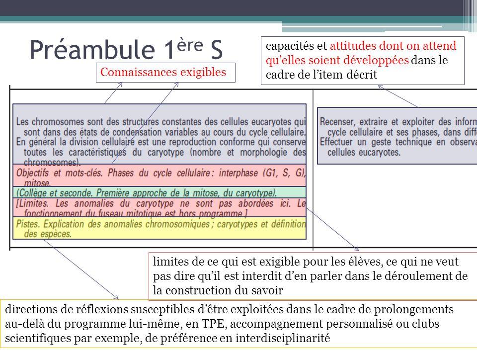 Préambule 1 ère S directions de réflexions susceptibles dêtre exploitées dans le cadre de prolongements au-delà du programme lui-même, en TPE, accompa