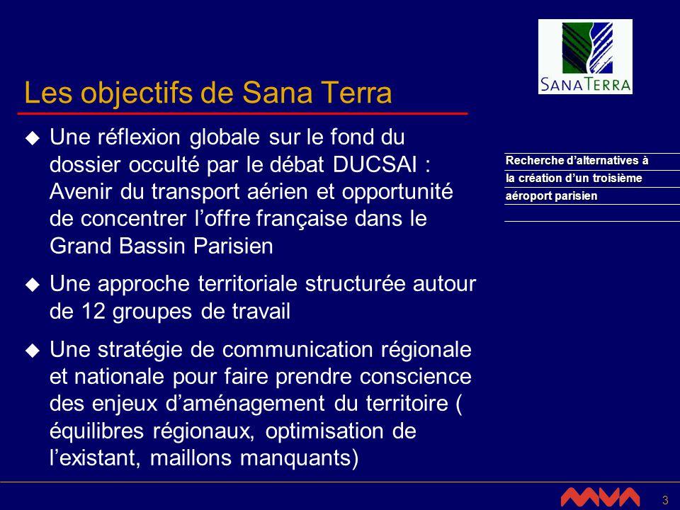 14 Recherche dalternatives à la création dun troisième aéroport parisien Utilisation optimisée des aéroports parisiens (4/6) Constat Comparaison de l utilisation des pistes sur les grands aéroports internationaux