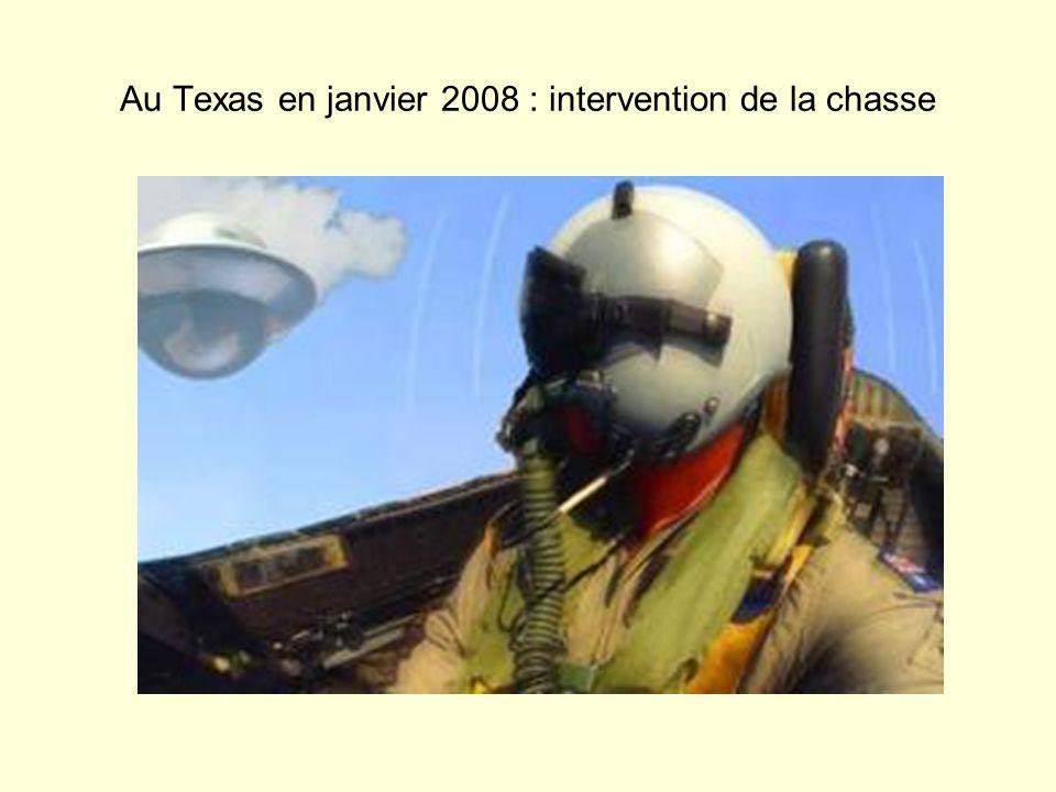 Au Texas en janvier 2008 : intervention de la chasse