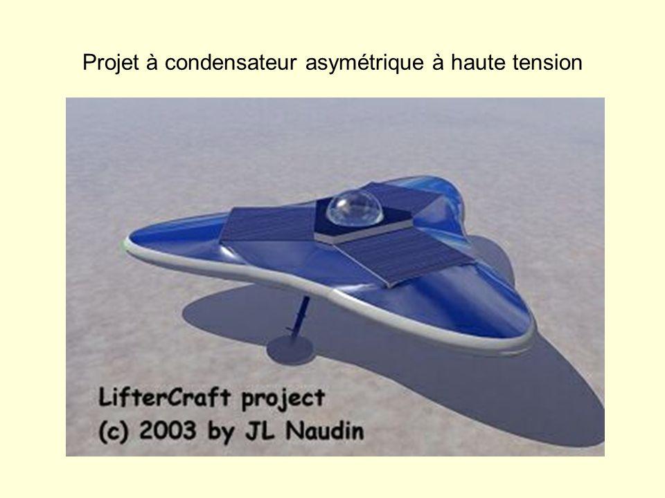 Projet à condensateur asymétrique à haute tension