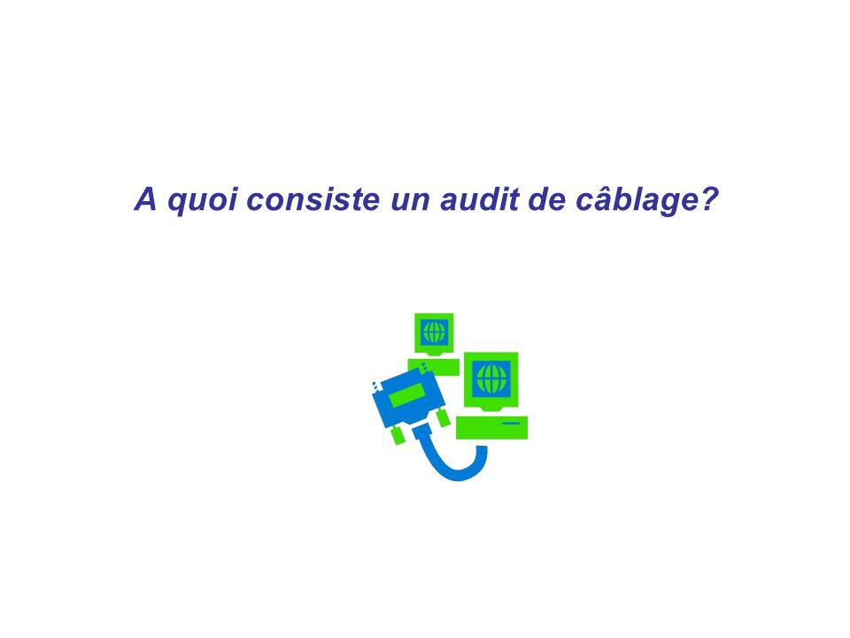 A quoi consiste un audit de câblage?