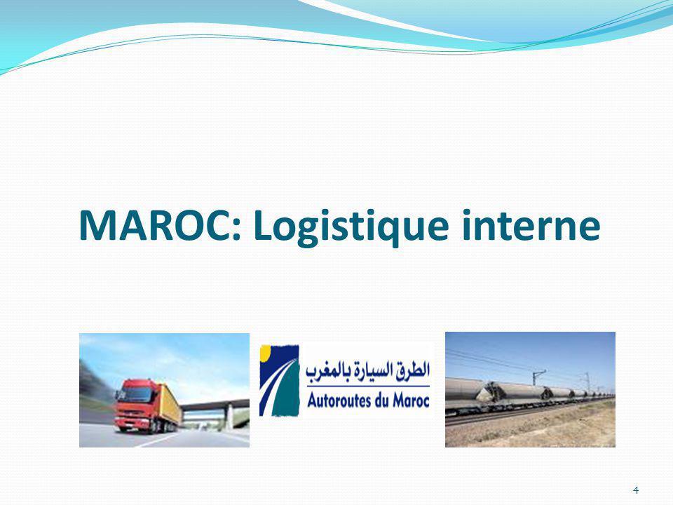MAROC: Logistique interne 4
