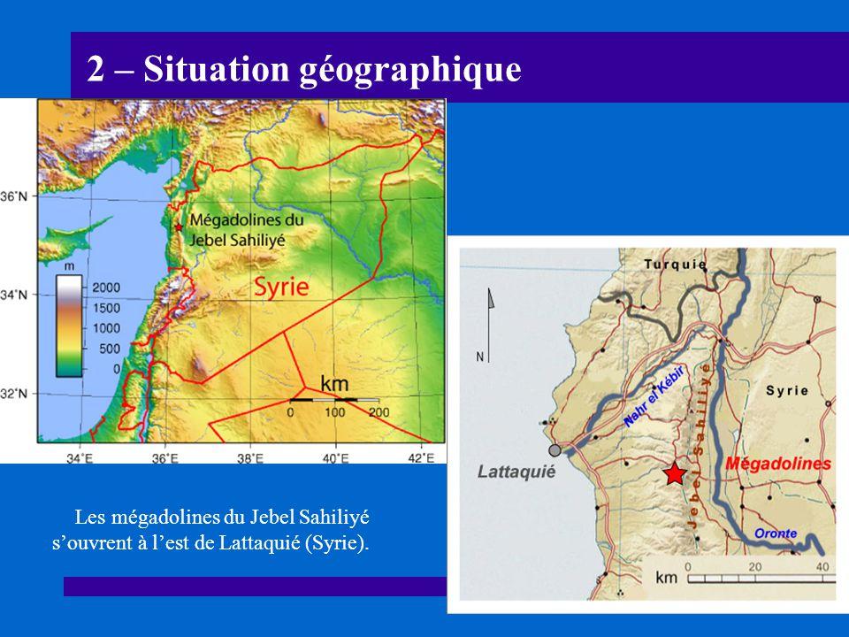 23 – Fin En Syrie, les recherches spéléologiques ne sont pas suffisamment avancées pour en dire plus.