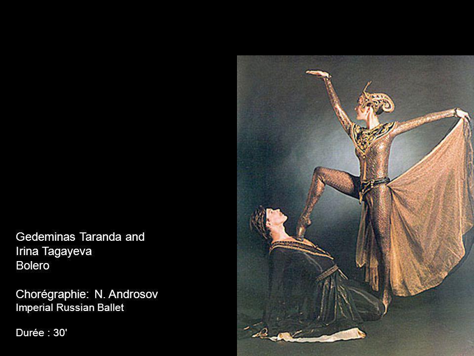 Gedeminas Taranda and Irina Tagayeva Bolero Chorégraphie: N.