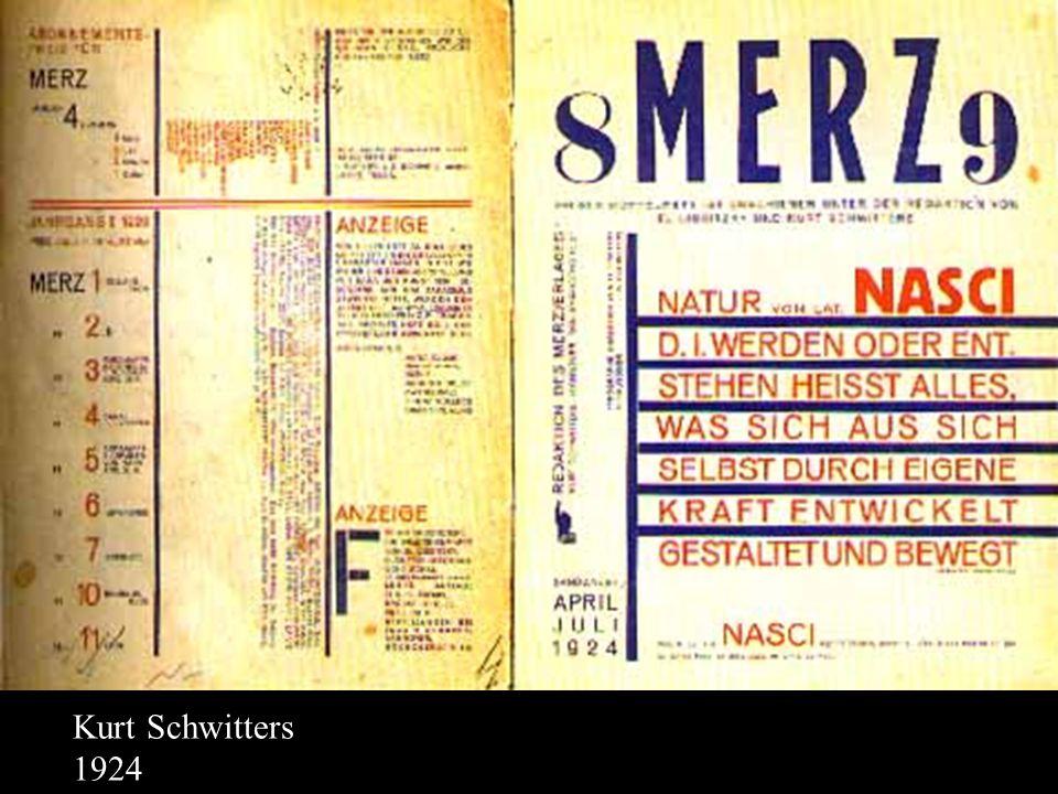 Kurt Schwitters 1924