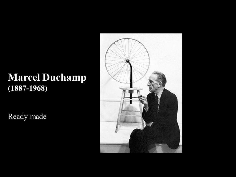 Marcel Duchamp (1887-1968) Ready made