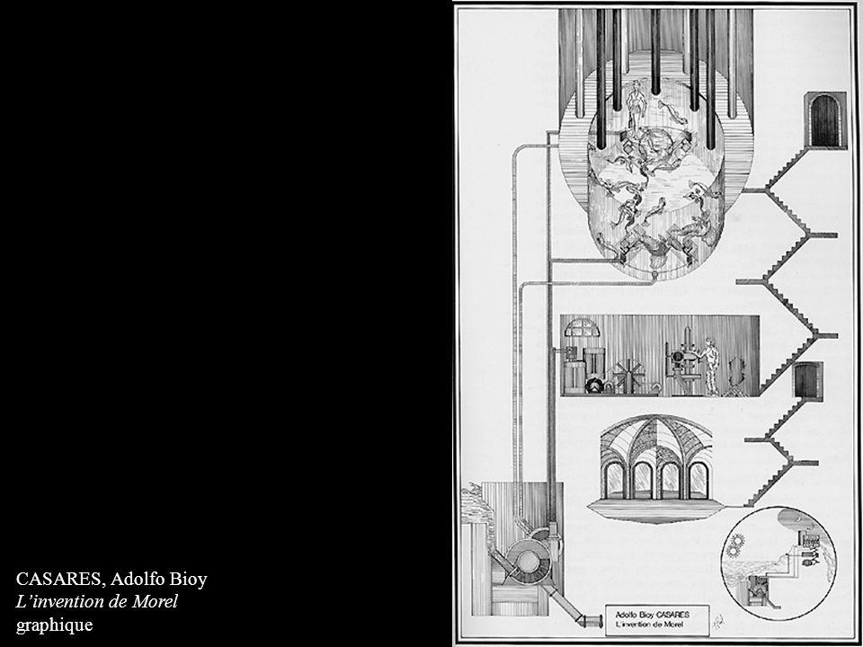 CASARES, Adolfo Bioy Linvention de Morel graphique