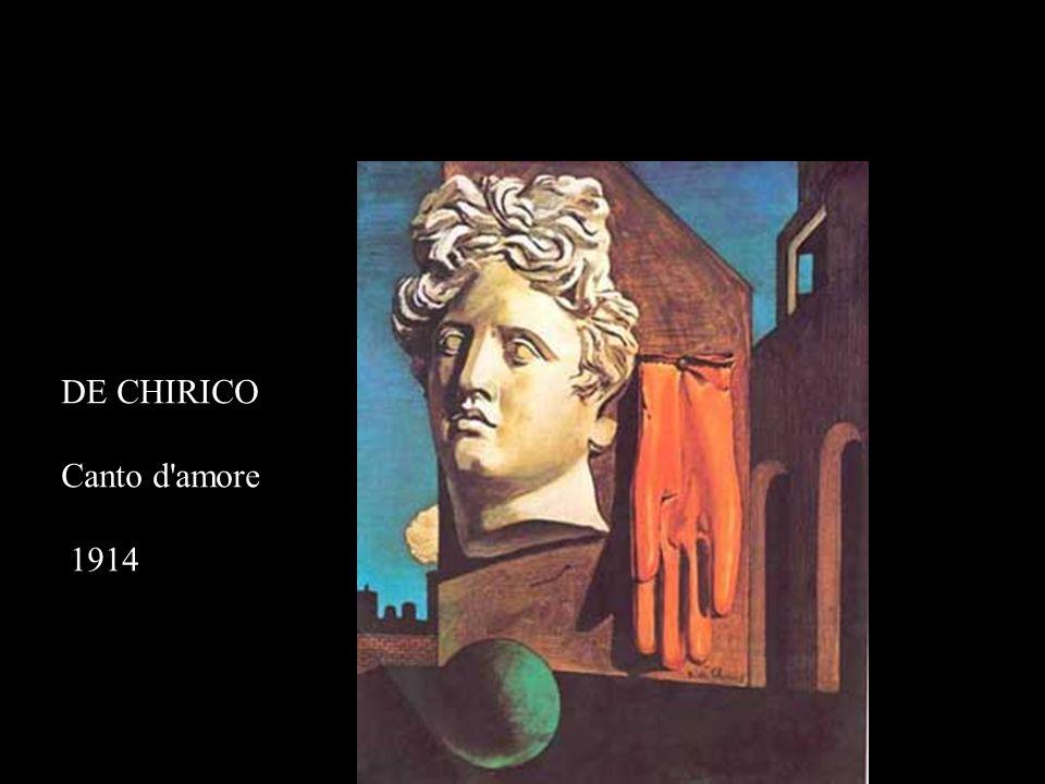 DE CHIRICO Canto d'amore 1914