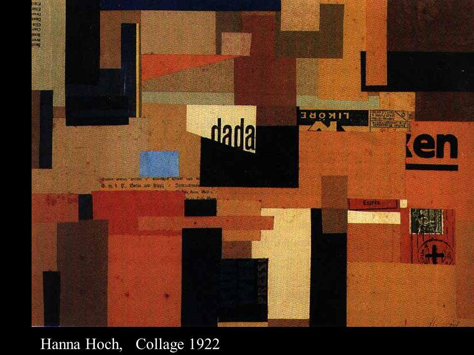 Hanna Hoch, Collage 1922
