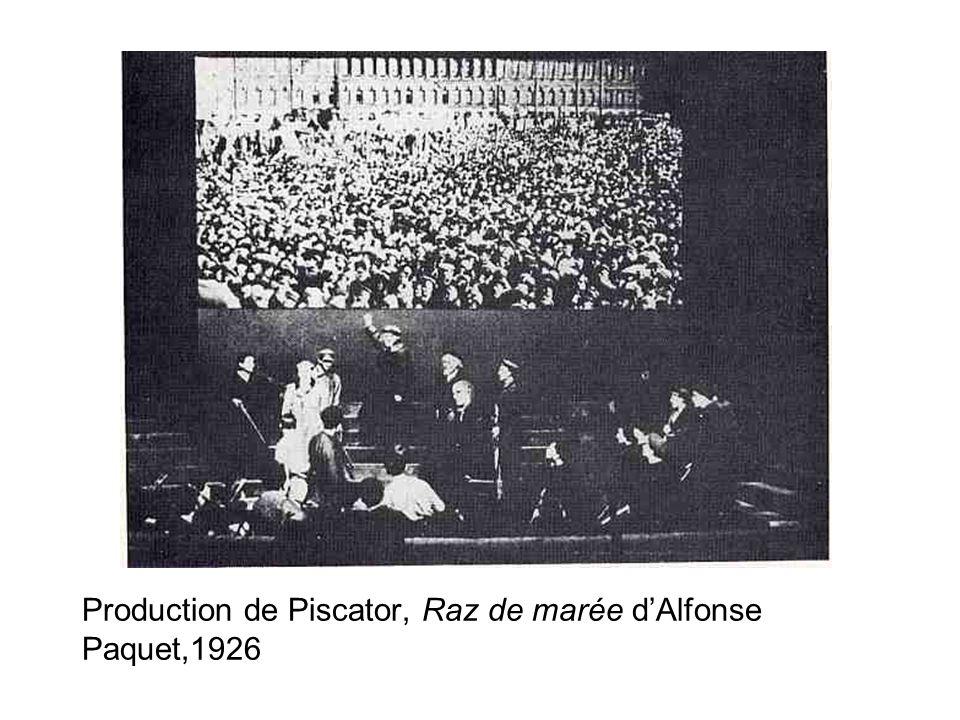 Production de Piscator, Raz de marée dAlfonse Paquet,1926