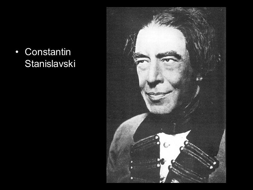 Constantin Stanislavski dans La Locandiera de Goldoni en 1898 Constantin Stanislavski