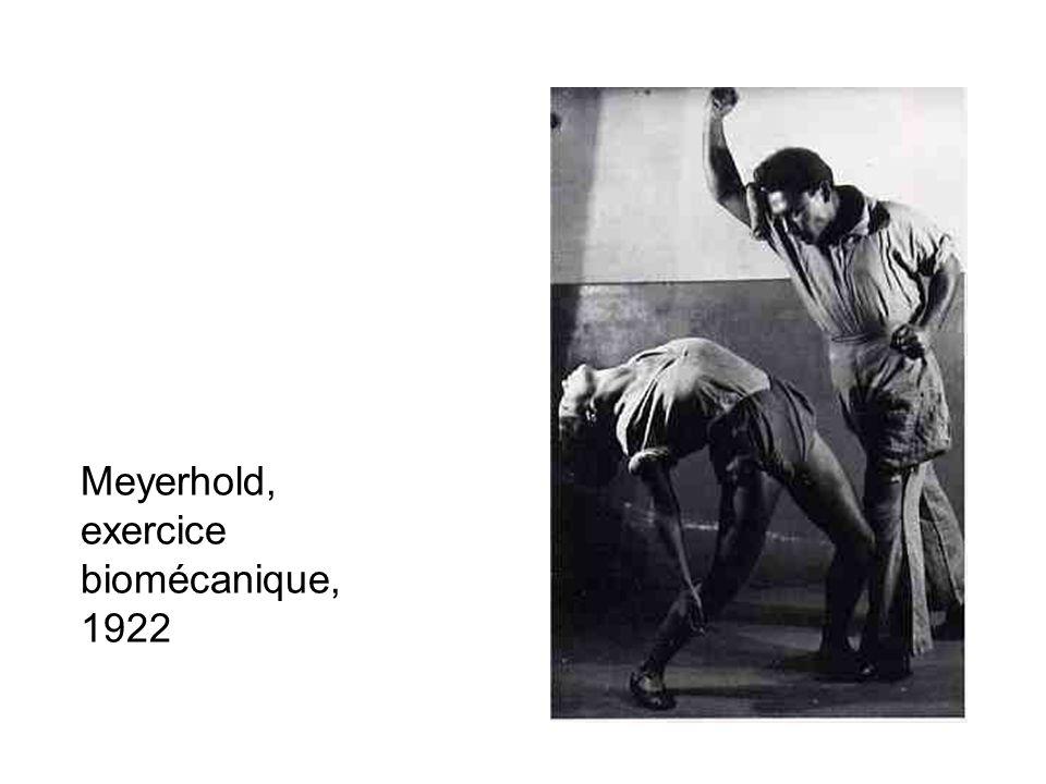 Meyerhold, exercice biomécanique, 1922
