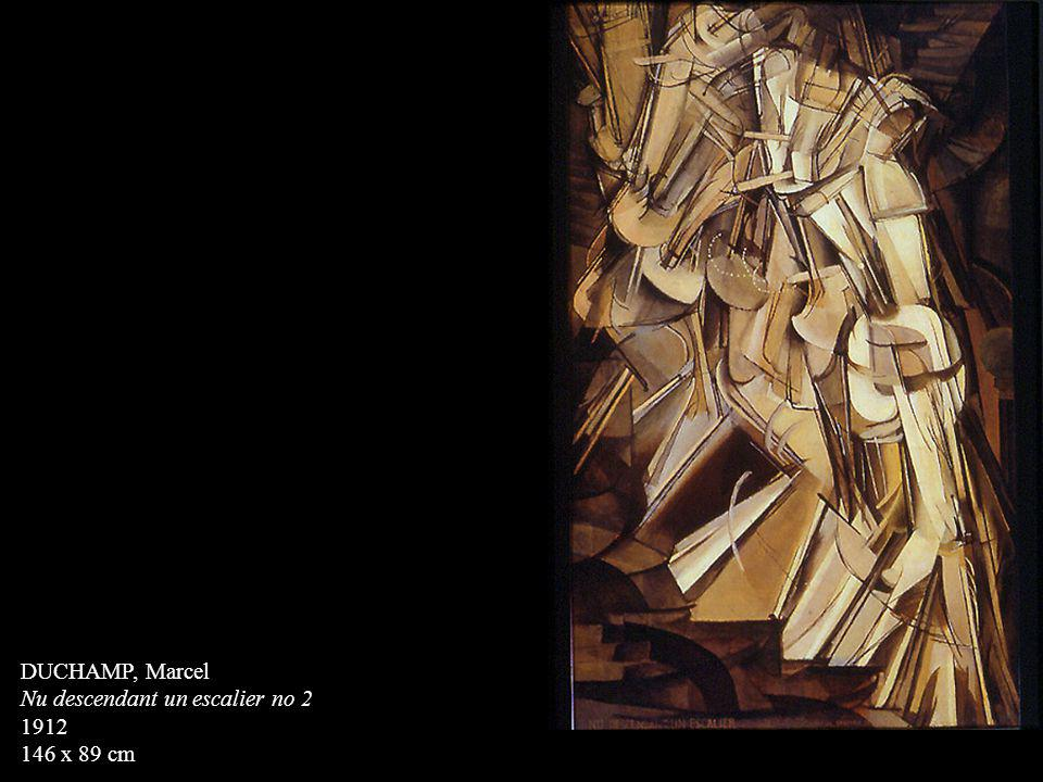 DUCHAMP, Marcel Nu descendant un escalier no 2 1912 146 x 89 cm