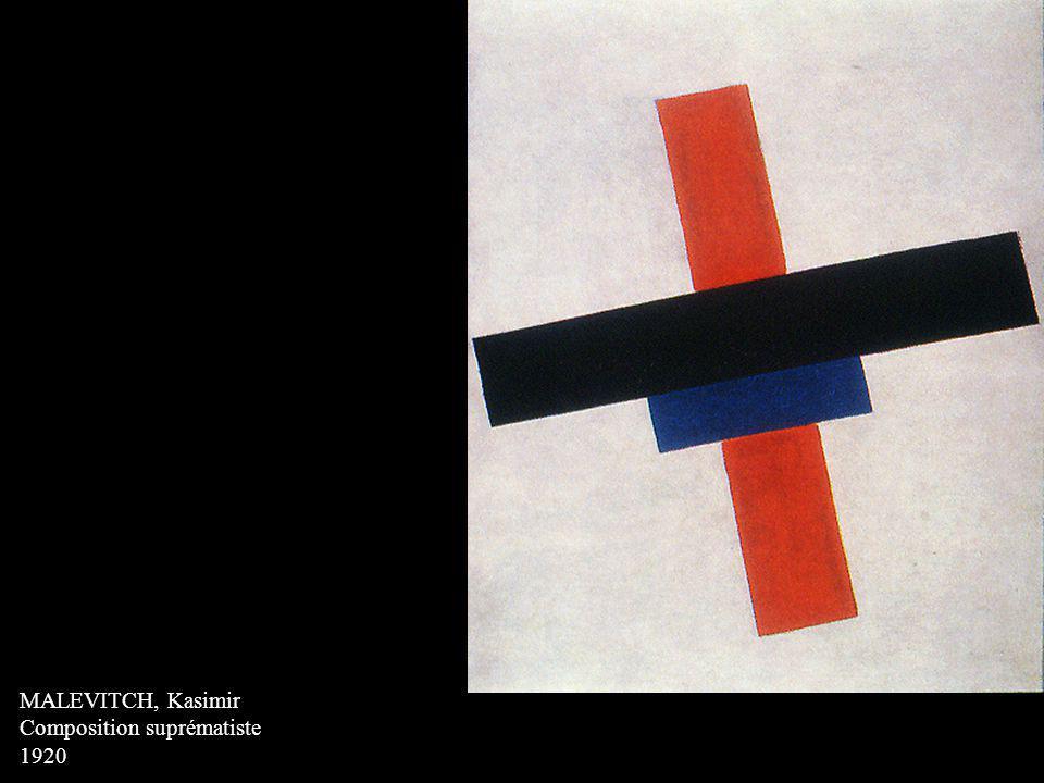 MALEVITCH, Kasimir Composition suprématiste 1920