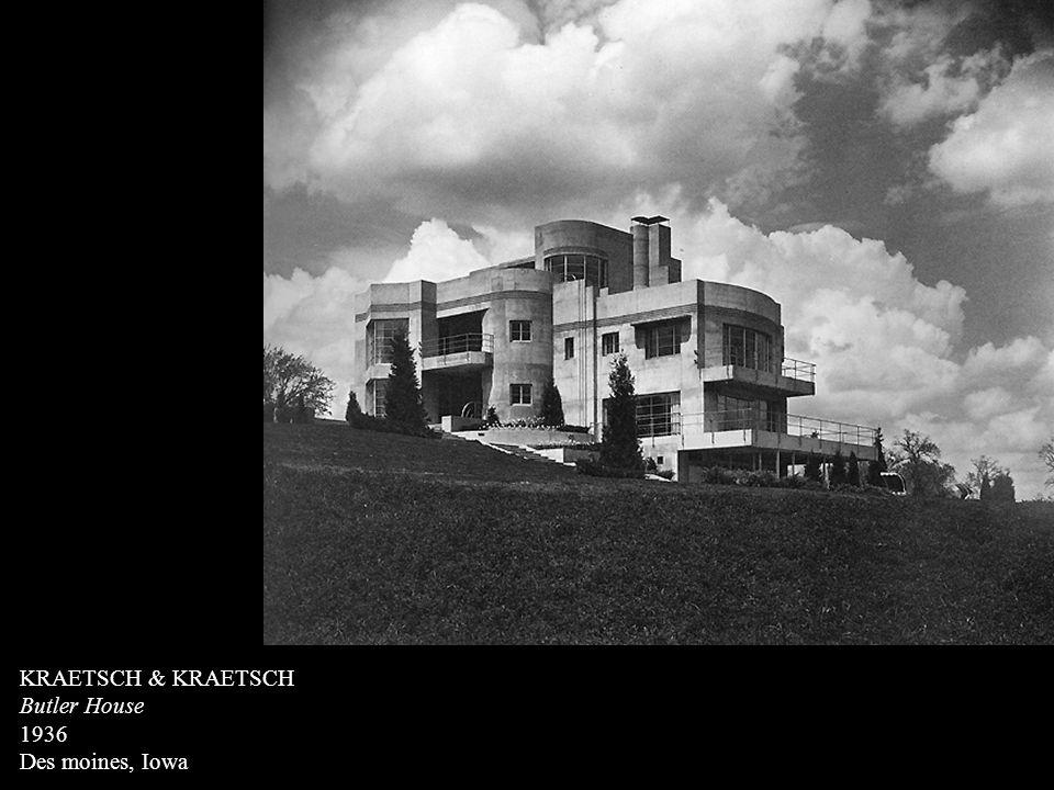 KRAETSCH & KRAETSCH Butler House 1936 Des moines, Iowa