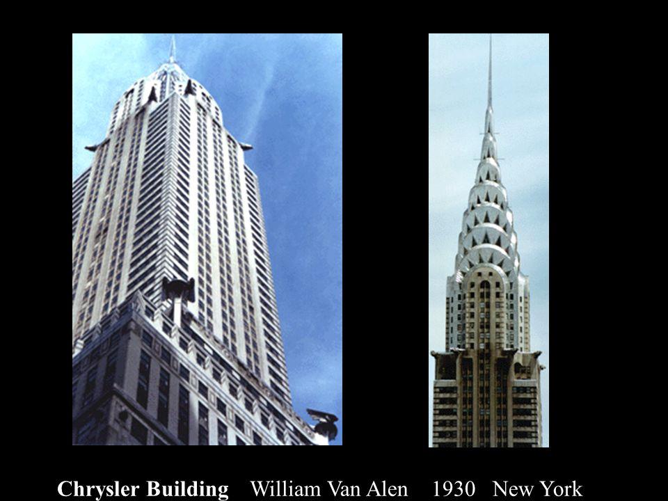 Chrysler Building William Van Alen 1930